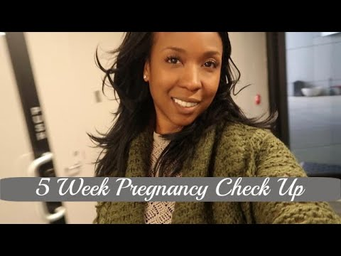 5 Week Pregnancy Check Up at Fertility Clinic | Donor Egg IVF Cycle