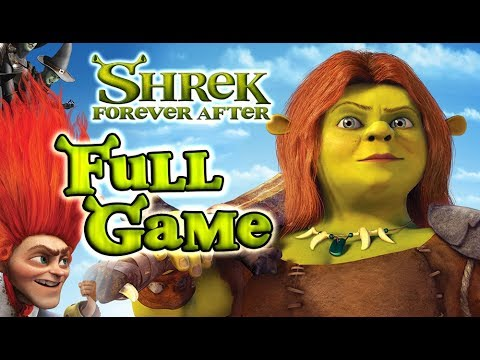 Shrek Forever After FULL GAME Movie Longplay (PS3, X360, Wii, PC)