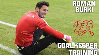 Roman Burki / Goalkeeper Training / Switzerland !