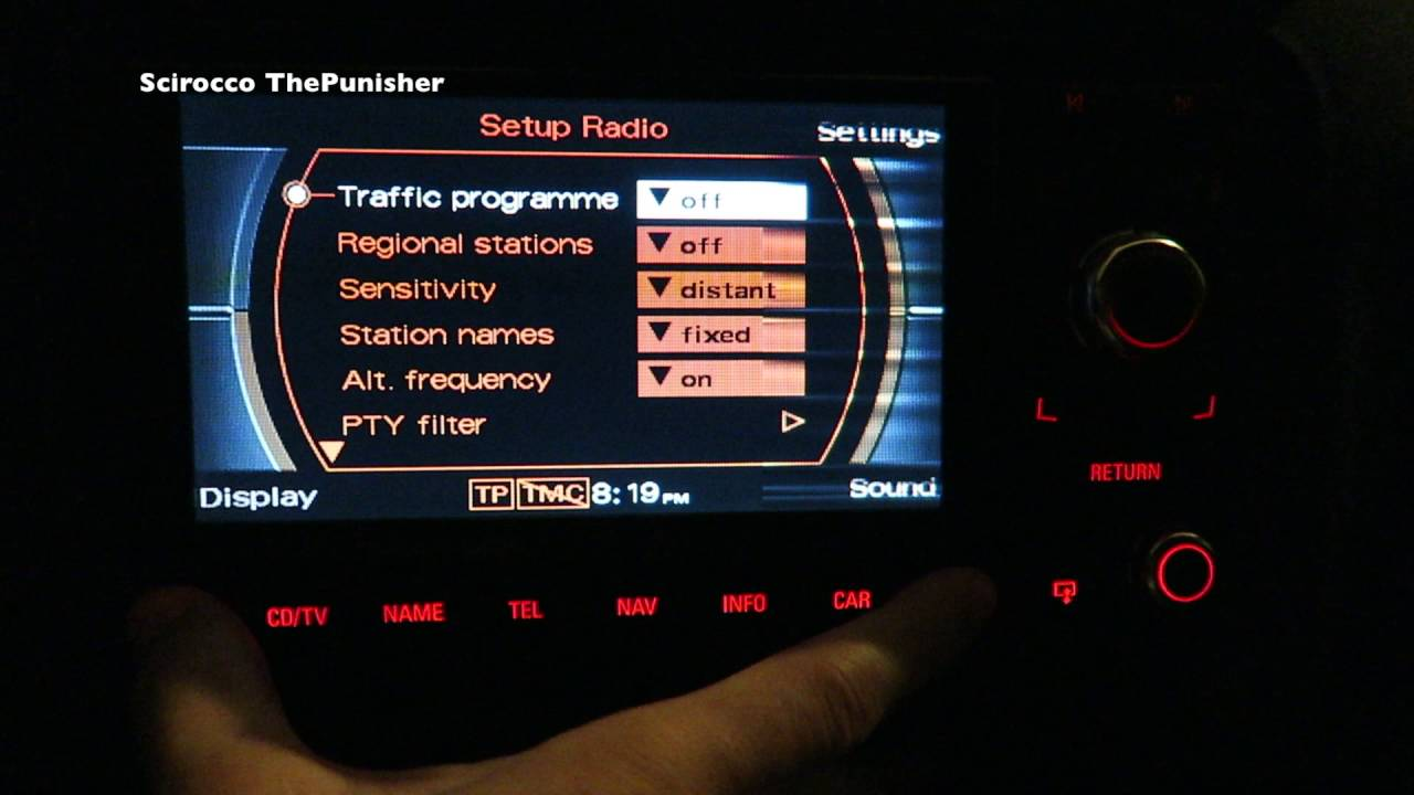 how to reset reboot rns e navigation plus youtube rh youtube com Audi Navigation Plus Audi Nav System