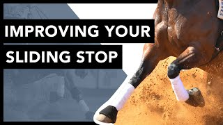 How to Teach Your Horse to Slide | Lesson with Mindy & Pebbles