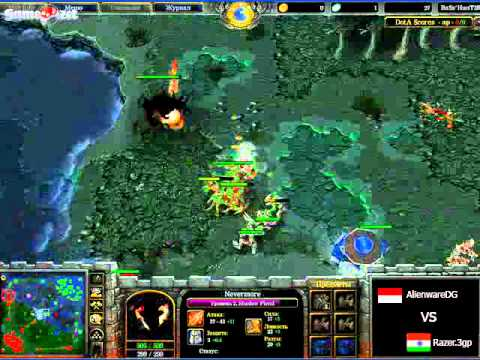 видео: [vod] dota: напряженный матч alienwaredg vs razer.3gp