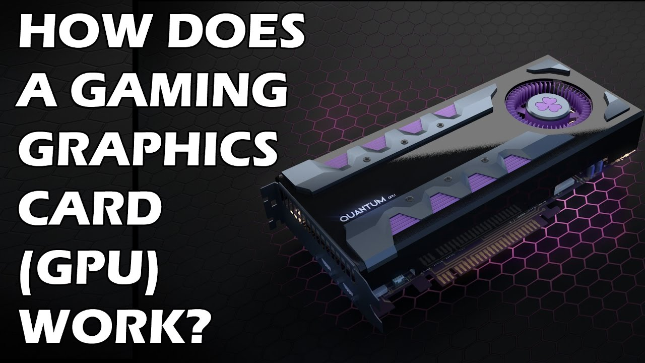 How does the video card work
