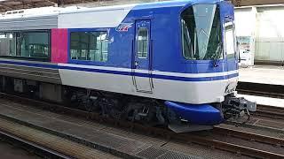 回送されて来た HOT7000系特急スーパーはくと号 貫通型車両 鳥取駅にて