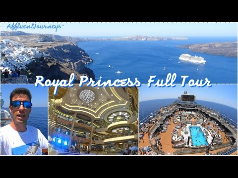 Royal Princess Full Tour in 1080p