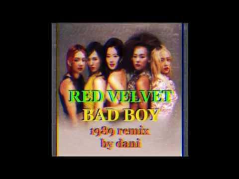 Red Velvet - Bad Boy (1989 remix by dani)