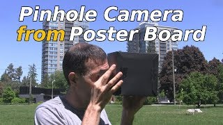 How to Make Pinhole Camera with Poster Board