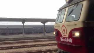 Chinese New Year Travel Rush (Train K9336 Nanning - Yulin - Hezhou)