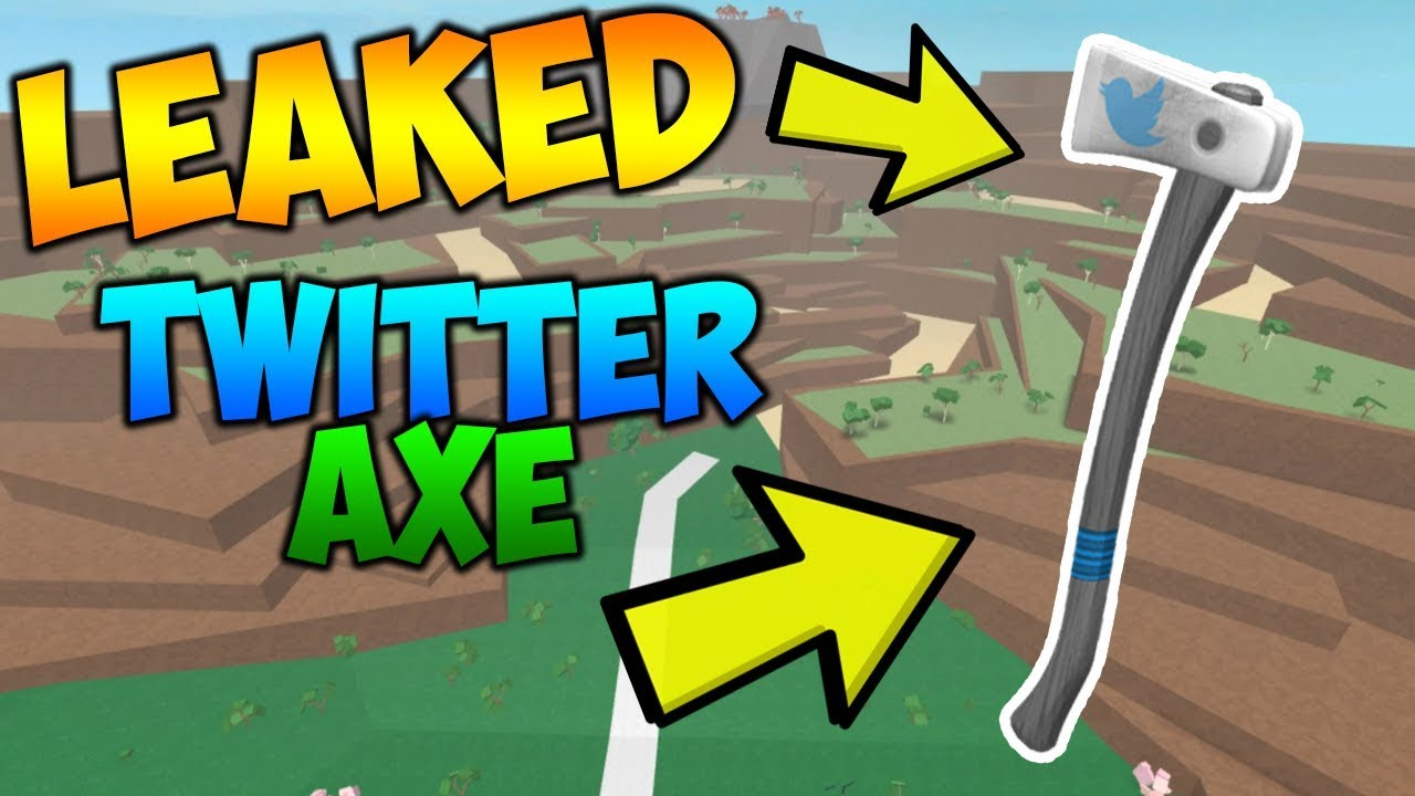 Roblox   Lumber Tycoon 2: TWITTER AXE LEAKED !!