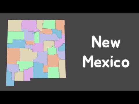 New Mexico Geography   Fan Song by Kxvin