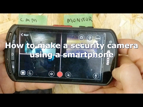 How To Make A Do It Yourself Home Security System Using An Old Smartphone And AtHome App