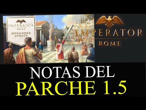 ¡SORPRESA! EL PARCHE 1.5 LLEGA MAÑANA Y TRAE TODO ESTO GRATIS - Imperator Rome en español  