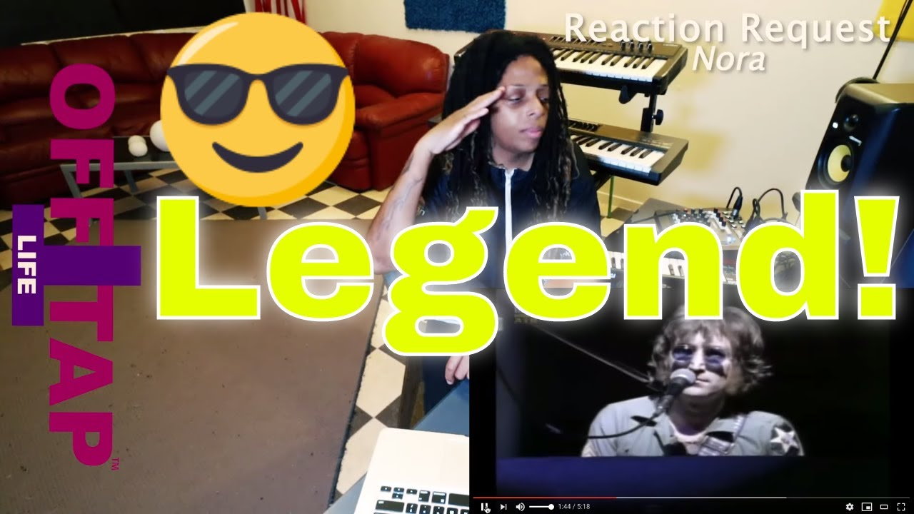 John Lennon Mother Live Hd Reaction Youtube