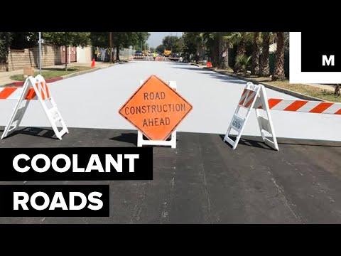Coolant roads