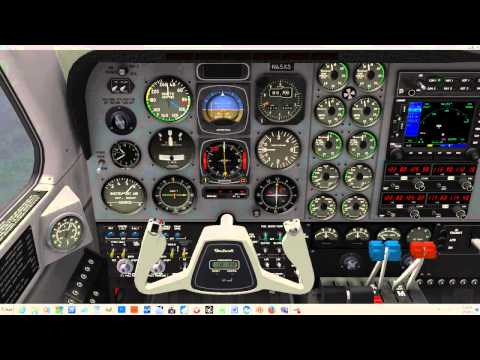 How to Use Prop and Mixture Controls in X Plane ~ Tutorial