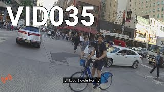 VID035 - Loud Car horn on a bicycle - Part 2