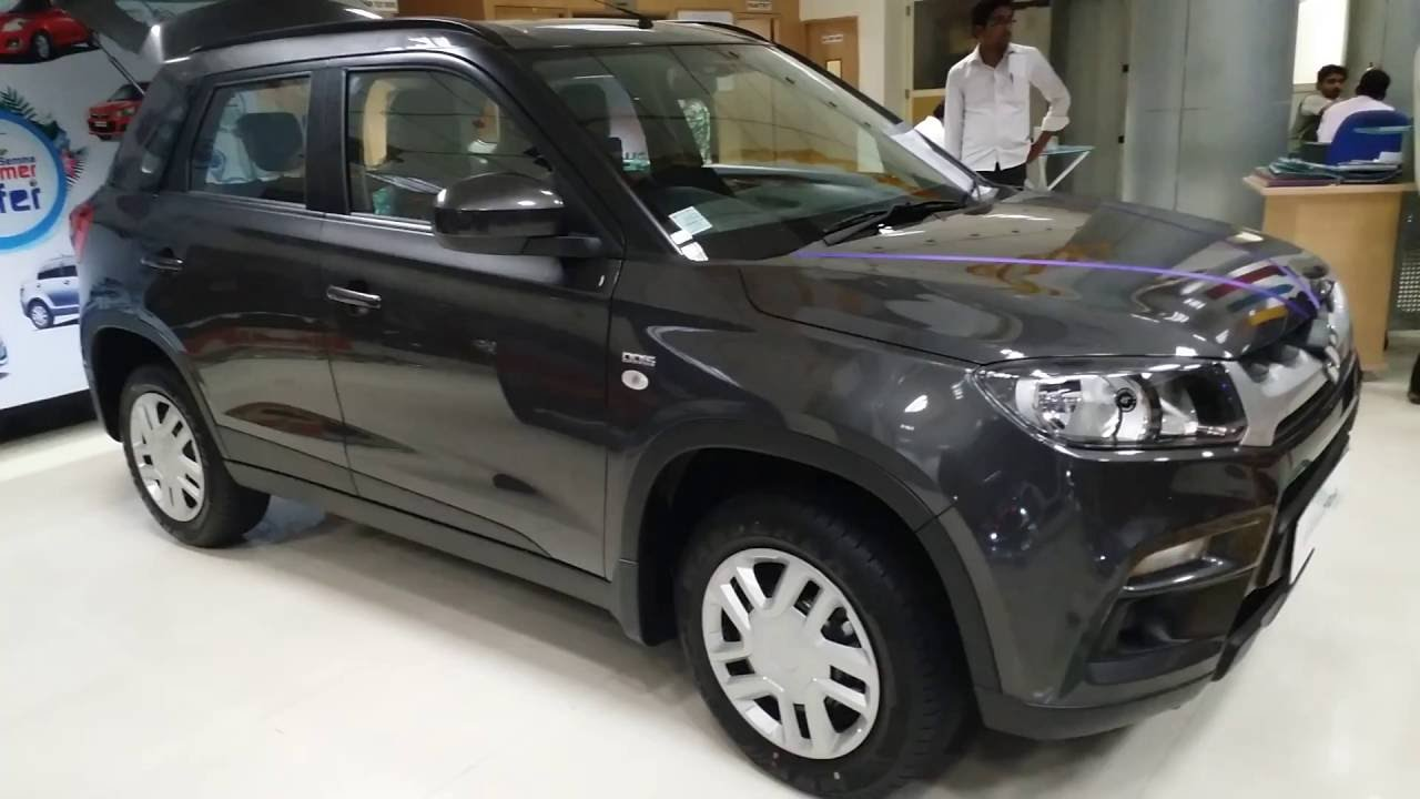 Car Colors List >> Maruti Suzuki | New Brezza Vitara 2016 | Grey color - YouTube