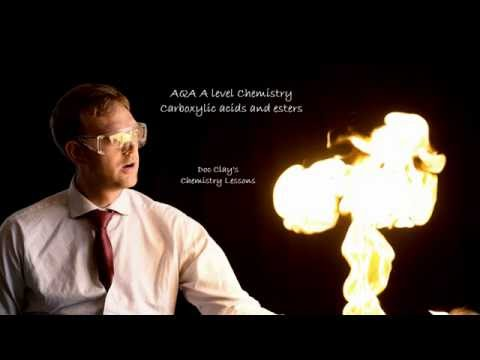 A-level AQA Chemistry - Carboxylic acids and Esters