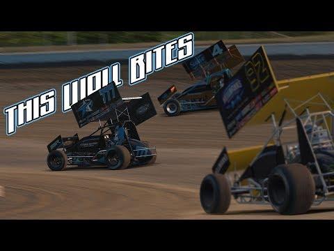 iRacing - Season Two Build - 360 Sprint Car @ Limaland Motorsports Park - This Wall Bites