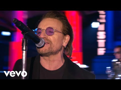 U2 - Get Out Of Your Own Way – MTV EMA Performance