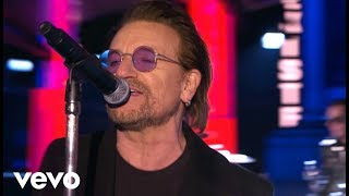 U2 - Get Out Of Your Own Way ? MTV EMA Performance