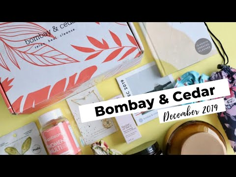 Bombay & Cedar Unboxing December 2019: Aromatherapy Subscription Box