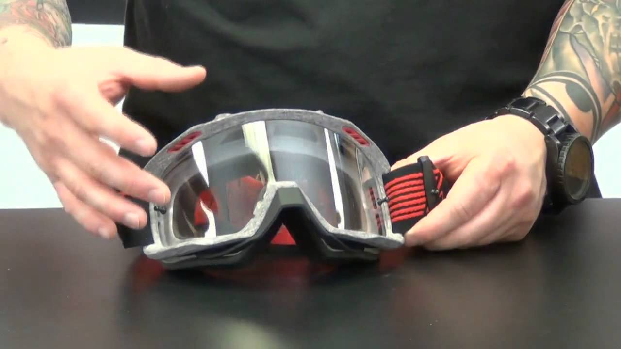6e89a5edf3 Fox Racing AIRSPC Sand Goggles Review - ChapMoto.com - YouTube