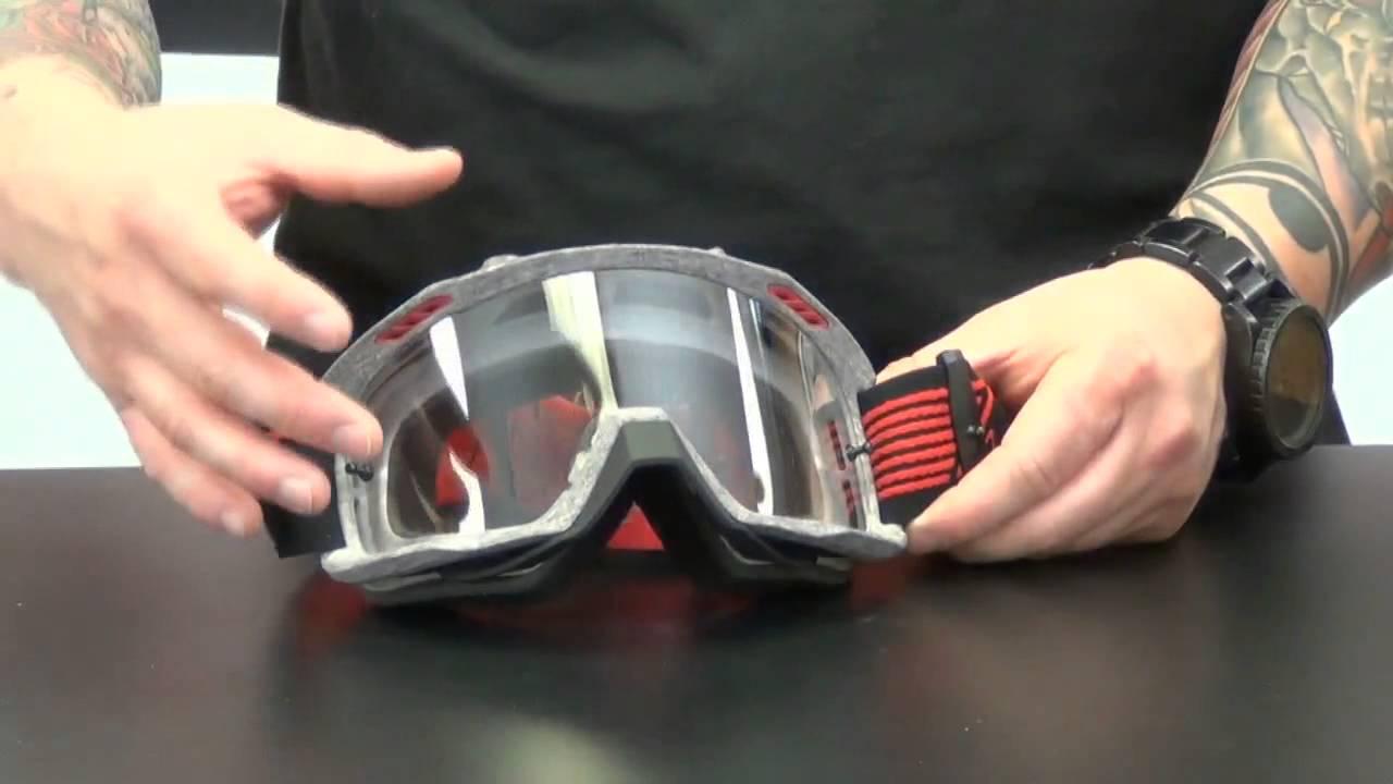 4260922d2ba4f Fox Racing AIRSPC Sand Goggles Review - ChapMoto.com - YouTube