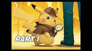 DETECTIVE PIKACHU Walkthrough Part 1 - First Hour & Case 1 (3DS Let