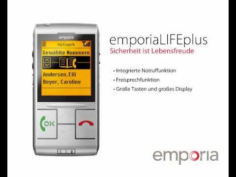Schwerhörigen Handy Emporia LIFEplus