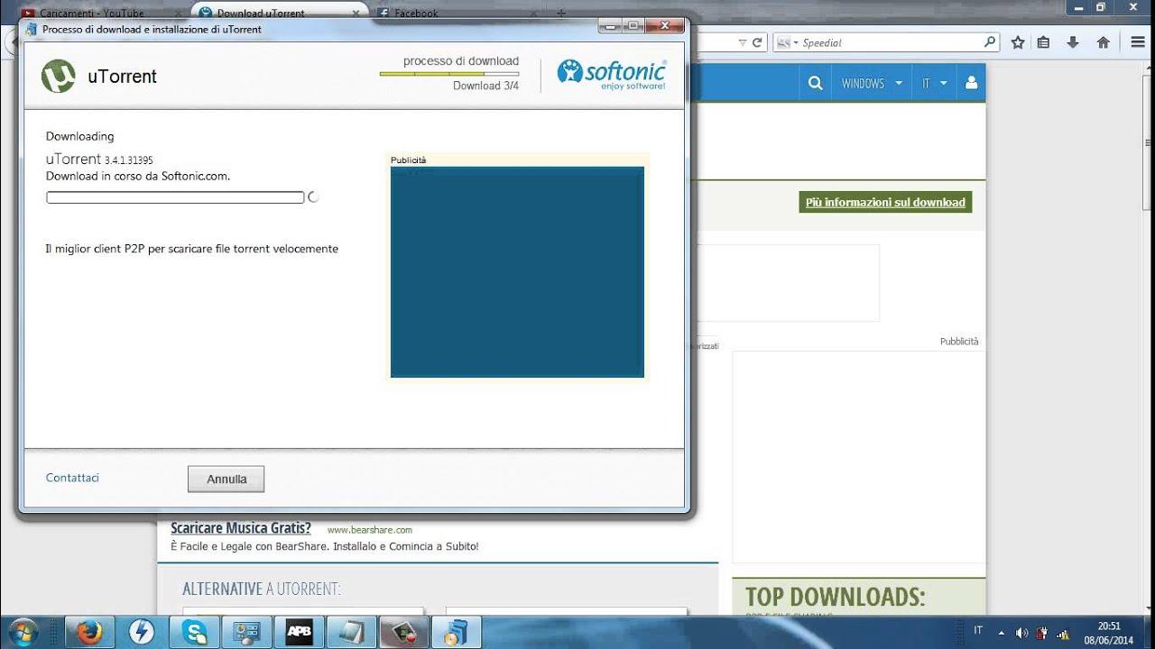scaricare utorrent gratis