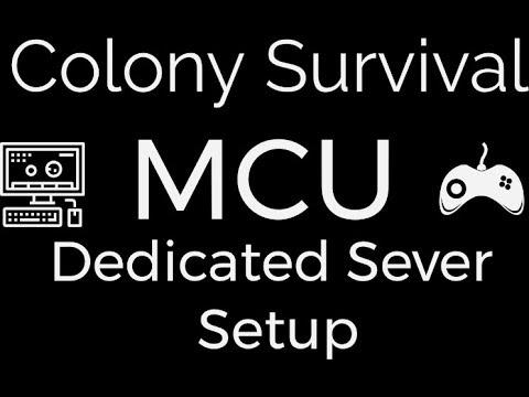 Colony survival dedicated server setup