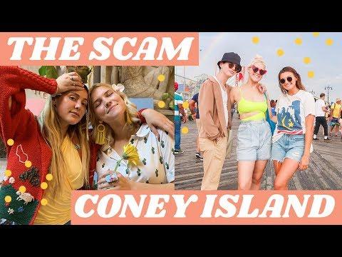 CAROLINE CALLOWAY + CONEY ISLAND