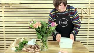 Цветочная коробочка с макарунами от Floriste. Мастер класс от Вадима Арлеанс.