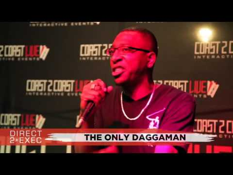 The Only DaggaMan (@Daggaman420) Performs at Direct 2 Exec NYC 7/25/17 - Atlantic Records