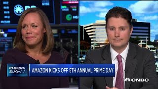 Online retailers benefit from Amazon Prime Day: Pro4ma's Dunn