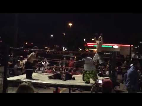 Midget wrestling- Coaches Sports Bar