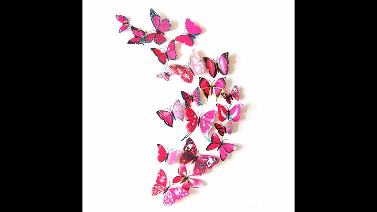 Butterfly Wall Decor 3D   Butterfly Wall Decor | Butterfly Wall Decor For  Baby Room