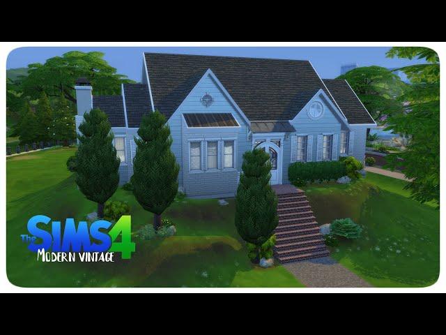 The Sims 4: Modern vintage ház