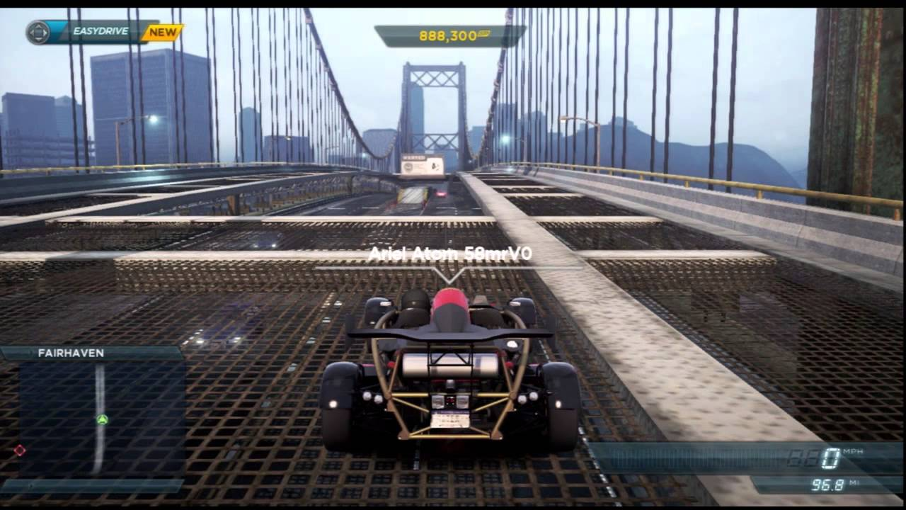 Need for Speed Most Wanted Ariel Atom 500 V8 Jackspot Locations ...