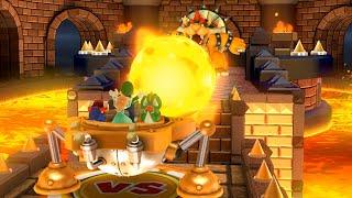 Mario Party 10 - Chaos Castle - Mario Vs Luigi Vs Rosanina Vs Yoshi (Team Mario - Master CPU)