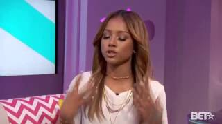 karrueche tran talking about her relationship with chris brown justkeke