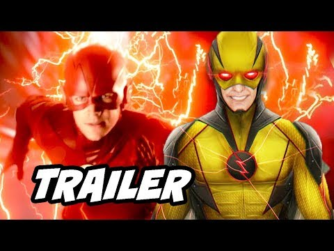 The Flash Season 5 Episode 10 Trailer - Reverse Flash New Suit Scene