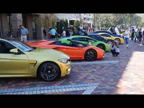 JACKSONVILLE'S RICHEST CAR SHOW!! REV BATTLE + CRAZY ACCELERATIONS!!
