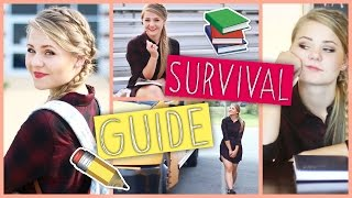 BACK TO SCHOOL SURVIVAL GUIDE - Langeweile, Outfit, Essentials & Mehr!