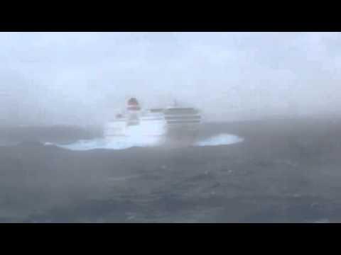 Temporal marítimo Buque Fortuny Acciona Bad weather
