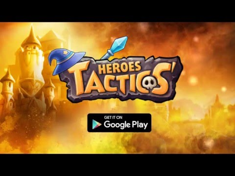 Heroes Tactics Game play Full Introduction! (Google)