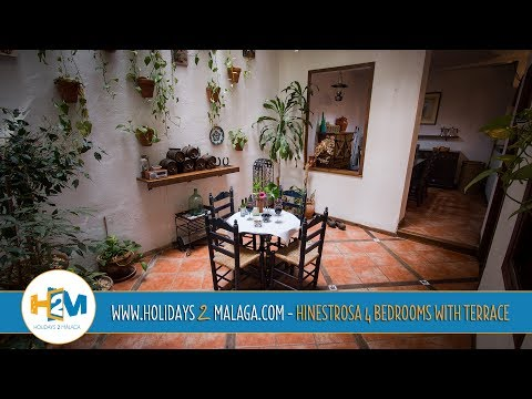 "Holidays 2 Malaga - House for Rent Hinestrosa 4 Bedrooms (""Holidays Rentals"" Malaga / Spain)"