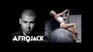 DJ Afrojack remix (Miley Cyrus - Wrecking Ball) FULL MIX