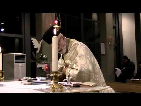 Santa Messa Celebrata in Greco bizantino